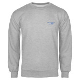 Grey Fleece Crew-Century Logo