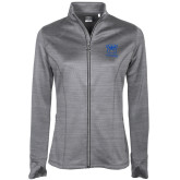 Ladies Callaway Stretch Performance Heather Grey Jacket-Primary Mark