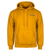 Gold Fleece Hoodie-Kettering University Word Mark