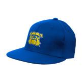 Royal OttoFlex Flat Bill Pro Style Hat-Bulldog Head