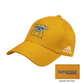 Adidas Gold Structured Adjustable Hat-Primary Mark Hats