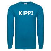 Sapphire Long Sleeve T Shirt-Primary Logo