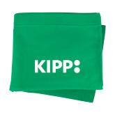 Kelly Green Sweatshirt Blanket-Primary Logo