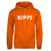 Russell DriPower Orange Fleece Hoodie-Primary Logo