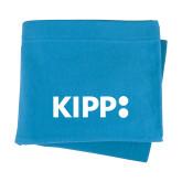 Light Blue Sweatshirt Blanket-Primary Logo