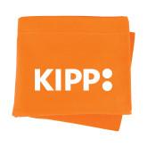 Orange Sweatshirt Blanket-Primary Logo