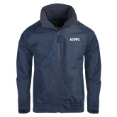 Navy Charger Jacket-Primary Logo
