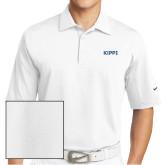 Nike Sphere Dry White Diamond Polo-Primary Logo