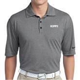 Nike Golf Dri Fit Charcoal Heather Polo-Primary Logo