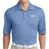 Nike Golf Dri Fit Royal Heather Polo-Primary Logo