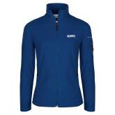 Columbia Ladies Full Zip Royal Fleece Jacket-Primary Logo