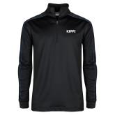 Nike Golf Dri Fit 1/2 Zip Black/Royal Pullover-Primary Logo