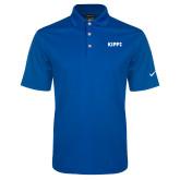 Nike Golf Dri Fit Royal Micro Pique Polo-Primary Logo