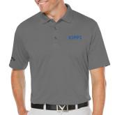 Callaway Opti Dri Steel Grey Chev Polo-Primary Logo