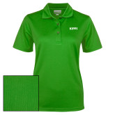 Ladies Kelly Green Dry Mesh Polo-Primary Logo