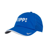 Nike Dri Fit Royal Perforated Hat-Primary Logo