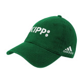 Adidas Kelly Green Slouch Unstructured Low Profile Hat-Primary Logo