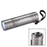 High Sierra Bottle Opener Silver Flashlight-Primary Logo Engraved