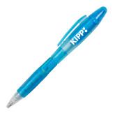 Blossom Blue Pen/Highlighter-Primary Logo