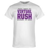 White T Shirt-Virtual Rush