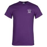 Purple T Shirt-Crest
