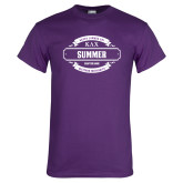 Purple T Shirt-Season Design