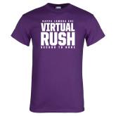 Purple T Shirt-Virtual Rush