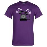 Purple T Shirt-Ring Ring
