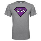 Grey T Shirt-Greek Diamond