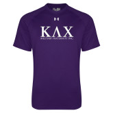 Under Armour Purple Tech Tee-Greek Letters