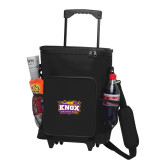 30 Can Black Rolling Cooler Bag-Prairie Fire Logo