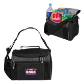 Edge Black Cooler-Prairie Fire Logo