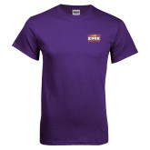 Purple T Shirt-Prairie Fire Logo