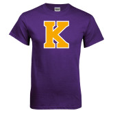 Purple T Shirt-K