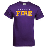 Purple T Shirt-Prairie Fire
