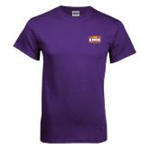Purple T Shirt-Prairie Fire Logo