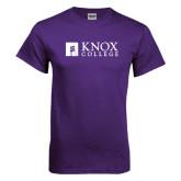 Purple T Shirt-Institutional Logo