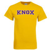 Gold T Shirt-Knox