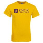 Gold T Shirt-Institutional Logo