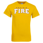 Gold T Shirt-Prairie Fire