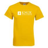Gold T Shirt-Institutional Logo