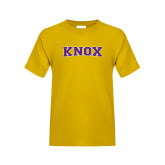 Youth Gold T Shirt-Knox