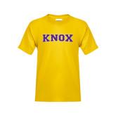 Youth Gold T Shirt-Knox