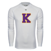 Under Armour White Long Sleeve Tech Tee-K
