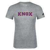 Adidas Sport Grey Logo T Shirt-Knox