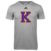 Adidas Climalite Sport Grey Ultimate Performance Tee-K