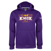 Under Armour Purple Performance Sweats Team Hoodie-Golf
