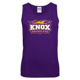 Purple Tank Top-Prairie Fire Logo