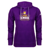 Adidas Climawarm Purple Team Issue Hoodie-Knox Mascot Logo
