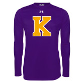 Under Armour Purple Long Sleeve Tech Tee-K